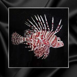 Картина стразами scorpena рыба крылатка Michele Astolfi | Visionnaire Home Philosophy