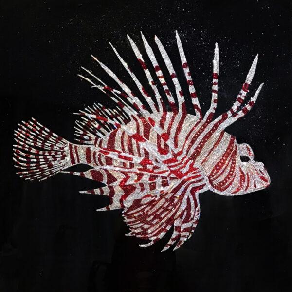 Интерьерная картина рыба крылатка по мотивам Michele Astolfi | Visionnaire Home Philosophy