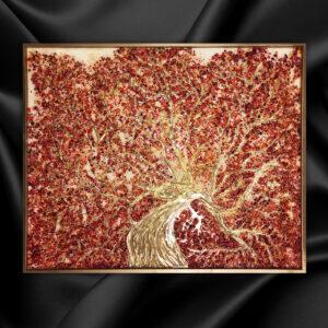 Красное дерево плодоровья картина