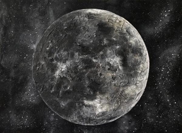 Современные картины на холсте Луна по выгодным ценам