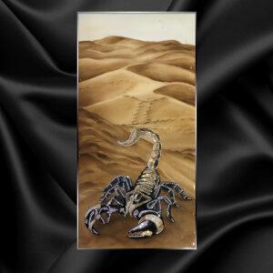 Картина маслом Скорпион